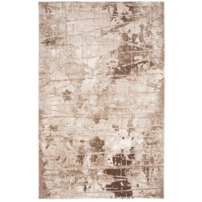Maskinvävd matta Galya Brick - Nougat