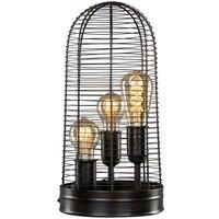 Bordslampa Industri 41x20,5 cm - Brun/Svart