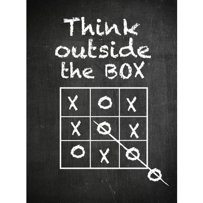 Poster Think outside the box