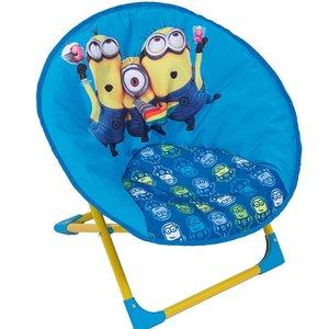 Minions klappstol - Blå/gul