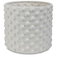 Kruka Bubbel H16 cm - Vit