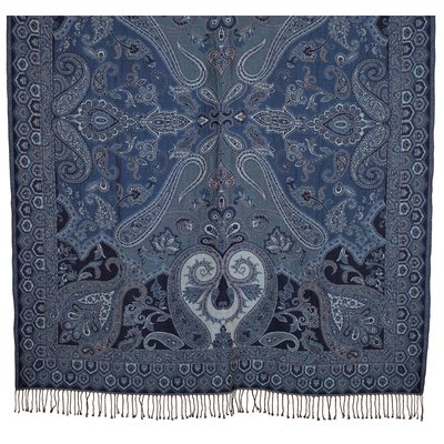 Pläd Byron 130x170 cm - Blå