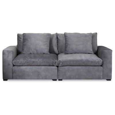 Ikaros modulsoffa 3-sits soffa - Grå Adore Velour