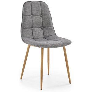 Wiley matstol - Grå (Tyg) / Ek