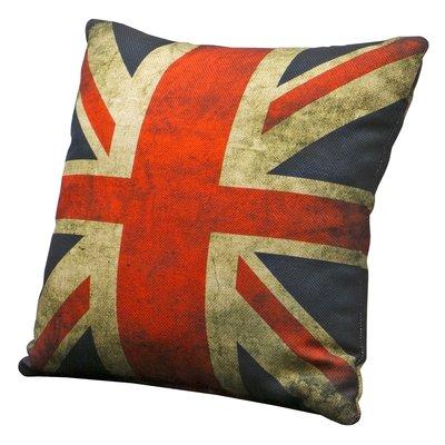 Union Jack prydnadskudde - Old