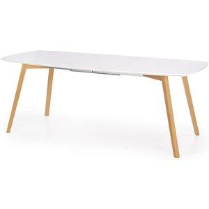 Winthrop utdragbart matbord 150-200 cm - Vit/ek & 4390.00