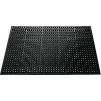 Dörrmatta - Domino - Gummi - 90x150 cm