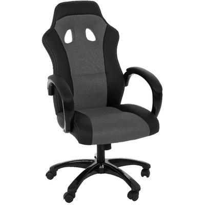 Gamingstol F430 skrivbordsstol - Grå/svart