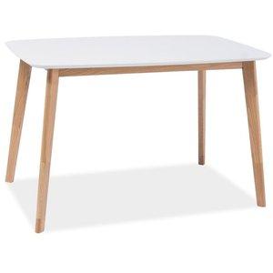 Matbord Kristen 120 cm - Vit/ek