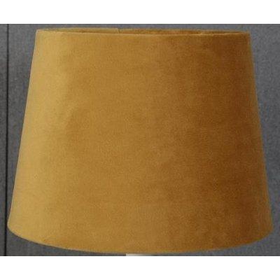 Velvet lampskärm 20 cm - Guld