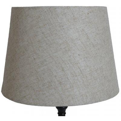 Rund lampskärm 27x35x25 cm - Beige (linne)