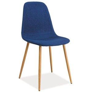 Rebekah stol - Mörkblå