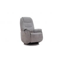 Victoria reclinerfåtölj - Chenille grå