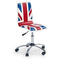 Gracie stol - blå/röd