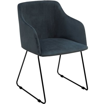 Ingela karmstol - Blå