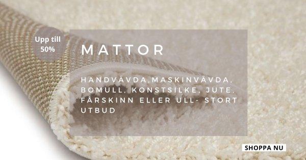 Mattor - Upp till 50% - Fantastiska priser!