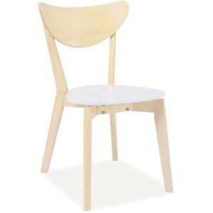 Arabella stol - Ek/vit