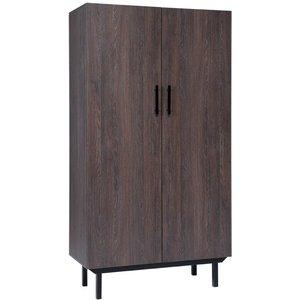 Klas garderob - Brun