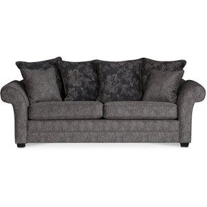Eriksberg 3-sits soffa - Grå/brunt mönster