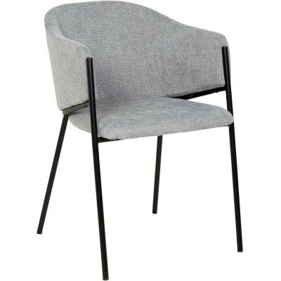 Stacey karmstol - Grå/svart