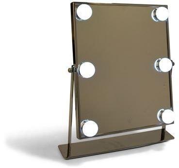 Sminkspegel med ledlampor - Silver