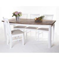 Toledo matgrupp - Bord inklusive 6 st stolar