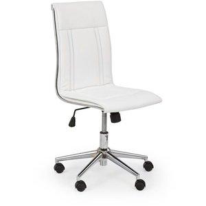 Joselyn skrivbordsstol - Vit (Konstläder)