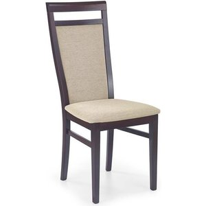 Stol Cindy - Valnöt / Beige
