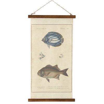Canvas tavla - Fisk 2
