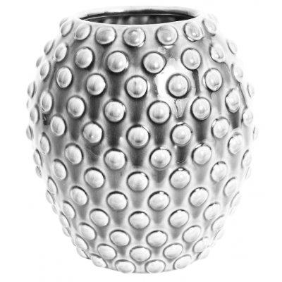 Vas Bouble H25 - Ljusgrå (glansig)