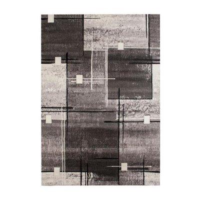 Maskinvävd matta Darleen - Grå