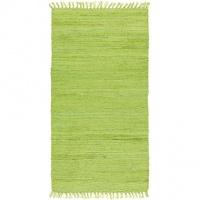 Trasmatta - Cotton - Lime - Handvävd bomull