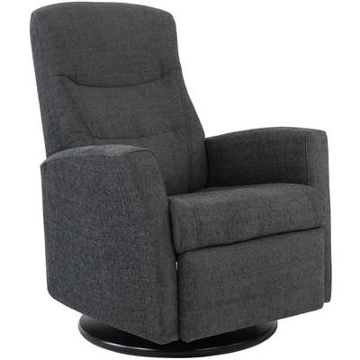 Hjellegjerde King reclinerfåtölj - Grå (Tyg)