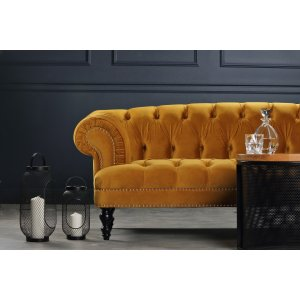 Oxford deluxe 3-sits chesterfield - Valfri färg