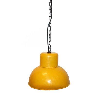 Åbenrå taklampa - Vintage gul