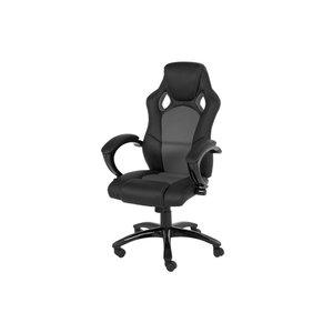 Redditch skrivbordsstol - Svart/grå