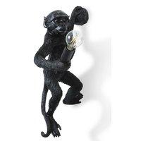 Monkey Vägglampa - Svart