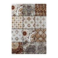 Maskinvävd matta Monroe - Rostfärgad
