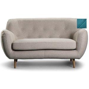 Boggie 2-sits soffa - Turkos