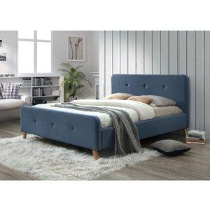 Sängram Aisha 140x200 cm - Blå