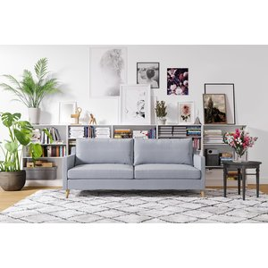 Blues 3-sits soffa - Valfritt tyg och färg!
