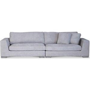 Nest loungesoffa XL 312 cm - Ljusgrå