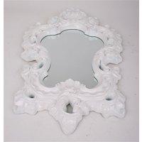 Spegel Romantisk - Vit