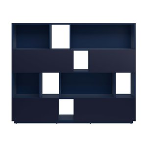 Sokrates bokhylla - Blå