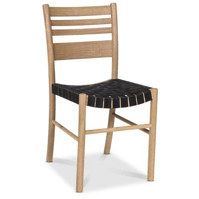 Sixten matstol - Ek/Svart Nylon