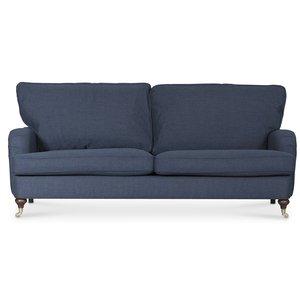 Howard Watford deluxe 3-sits soffa - Navyblå