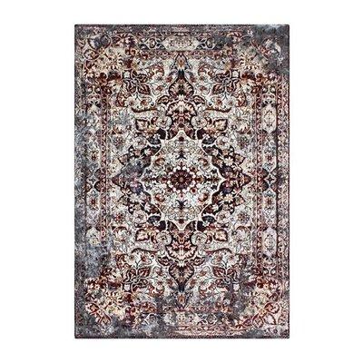 Maskinvävd matta Vidal - Rostfärgad