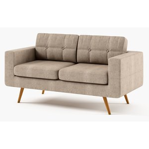 Stella 2-sits soffa - Valfri färg!