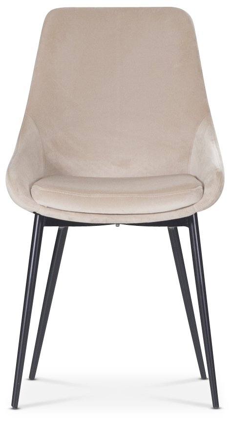 Theo stol Beige sammet 899 kr Trendrum.se