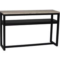 Keira avlastningsbord - Marmor/svart